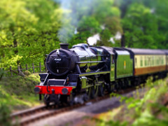 North York Moors Railway, model train