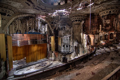 theater (s o u t h e n) Tags: urban abandoned theater decay united urbanexploration artists explorers exploration hdr highdynamicrange ua ue unitedartists unitedartiststheater photomatix