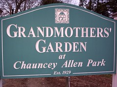 Grandmother's Garden sign