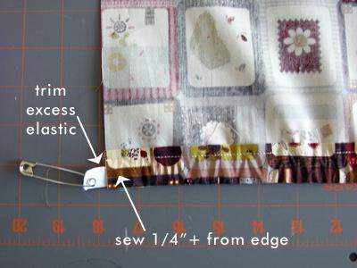7. Sew in Elastic