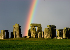 Stonehenge Rainbow - by LuluP