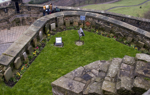 Dog Cemetery at the Edinburgh Castle by delfuego from Flickr