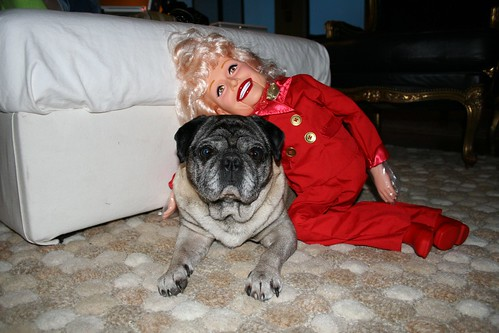 Carol Channing and Roscoe
