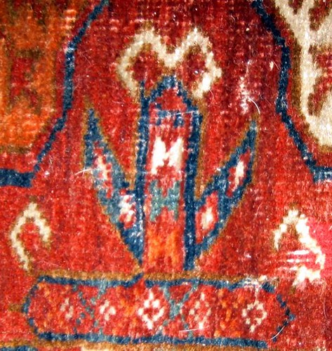 Bokhara traditional pattern, detail
