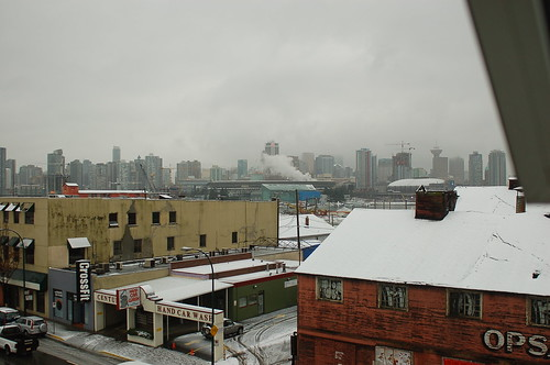 The roof of BC Place Stadium collapses from the snow?