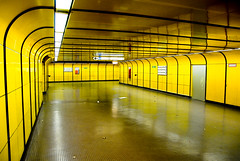 Emptiness in yellow (manganite) Tags: topf25 colors yellow digital buildings germany subway geotagged interestingness topf50 nikon topf75 europe bonn metro tl empty explore getty onecolor d200 subwaystation nikkor dslr topf100 emptiness gettyimages peopleschoice northrhinewestphalia fav100 interestingness94 i500 18200mmf3556 thecoloryellow utatafeature manganite nikonstunninggallery 25faves ipernity challengeyou challengeyouwinner superaplus geo:lat=5071596977958296 geo:lon=712110779802193 goldenphotographer superhearts date:year=2007 frhwofavs date:month=january date:day=7