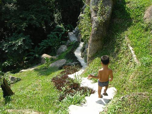 サムイ島‐paradise park farm-walking trail3