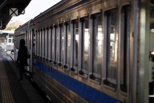 終点の乗降客