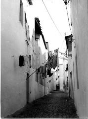 Rua 2- Estendal (Silvestre Raposo) Tags: houses light sun white black blancoynegro book closes dry moors contrasts alentejofrom quartierwhite