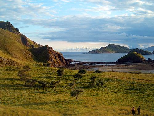 Sunset Komodo Island