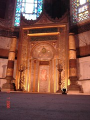 Mihrab Di Dlm Hagia Sofia, Istanbul, Turkey