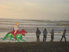 His Beach (Menazort) Tags: ocean green art flickr image tiger emergence subgenius heman confrontation menazort