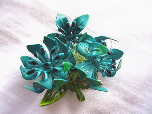 Vintage Lily Brooch by madelinetosh