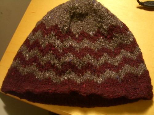 zig-zag hat