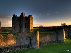 Trim Castle at Dusk