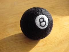 8 ball, corner pocket