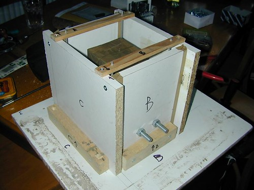 concrete mould for the moodlight