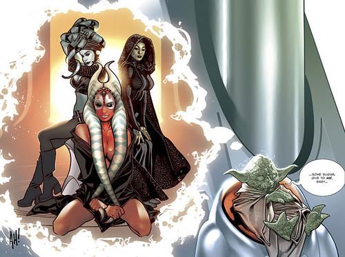 Jedi Babes Color (Adam Hughes)