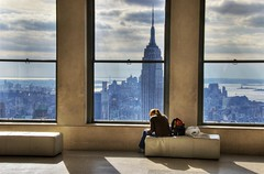 Rock New York (nicoatridge) Tags: usa ny newyork reflection topf25 beautiful rock wow interestingness view manhattan explore esb utata empirestatebuilding rockefeller iconic bigapple hdr newyorkbay girlonasofa interestingnesstop10 i500 outstandingshots utatafeature p1f1 firstonflickr explorejan262007 diamondclassphotographer flickrdiamond ysplix nicoatridge girlonaseat first200loaded