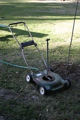 Labor Saving Device (Harbinjer) Tags: lawn sprinkler mower