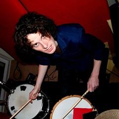 Hear the Drummer Get Wicked (Dave G Kelly) Tags: blue red music irish rot rock digital canon drums 350d sticks drum brian band irland drummer hal canoneos350d dublino irlanda irlande dubln fionnregan 1855lens davegkelly
