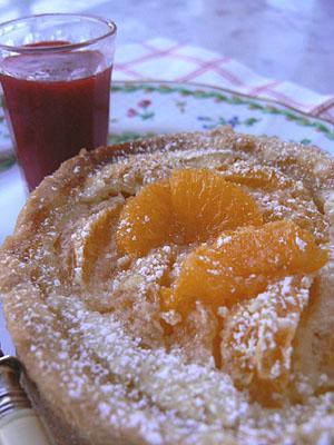 Tarte mandarine 1