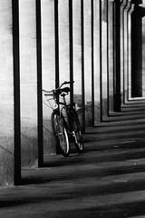 B1ke (Martin Gommel) Tags: blackandwhite bw lines bike architecture karlsruhe fahrrad bycicle architectur kwerfeldein