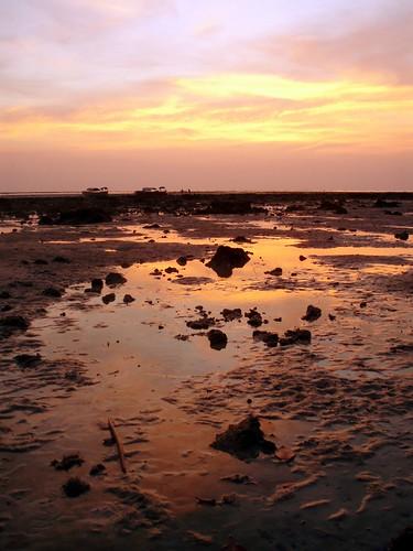 Sunset, seen 50m from my hut