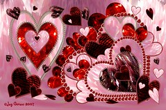 Love is Like a Box of Chocolates (Imagemakercan - The Lensdancer) Tags: pink red love hearts chocolate sweets valentines flickrchic pinkalicious joygerowphoto joygerow