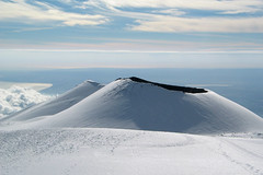 Laghetto-Crater on Etna (Thomas Reichart ) Tags: winter snow volcano bravo cone crater sicily etna sicilia vulkan laghetto tna blueribbonwinner montagnola impressedbeauty montejosemariaescriva laghettocrater