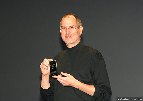 Steve Jobs introduces the iPhone
