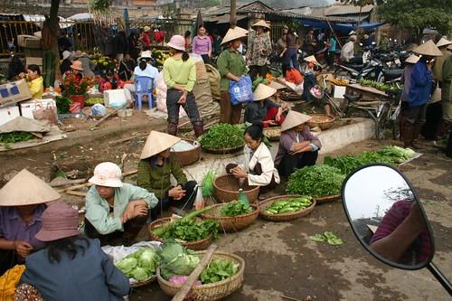 Market near Hoa Binh