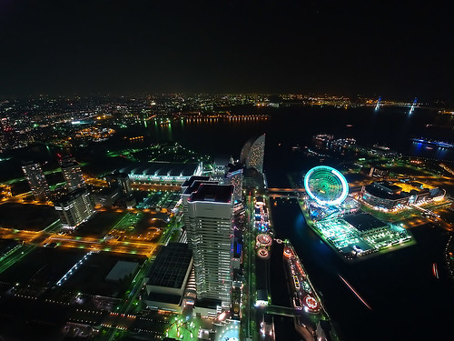 view from a LANDMARK TOWER YOKOHAMA 1