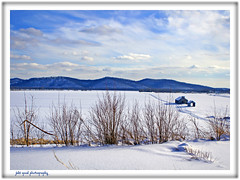 blue horizon (jaki good miller) Tags: winter white snow cold field rural season landscape interestingness bravo searchthebest snowy farm country barns farmland explore exploreinterestingness jakigood idyllic pikecounty jackfrost top500 explorepage explored specland explorepages skiesandscapes