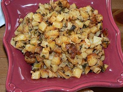 Petites pommes de terre épicées