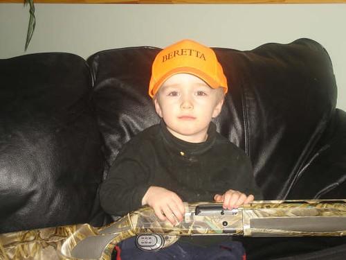 My nephew, the hunter.