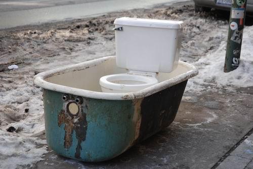 Toilet Tub