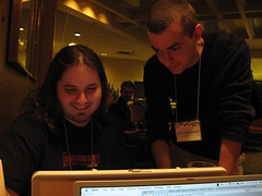 Gary and Dave Hacking