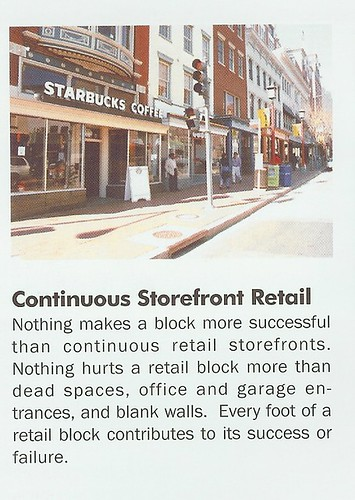 Principles of Quality Storefronts, #2: Continuous Storefront Retail