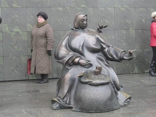Женщина, торгующая семечками ©  kurmanka