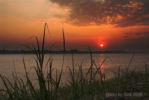 Mekong - sunset 002