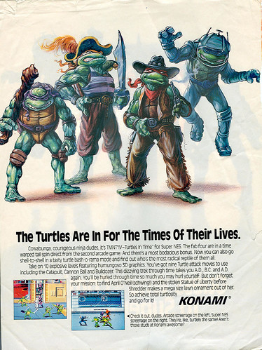 An old advertisment from the 1992 release