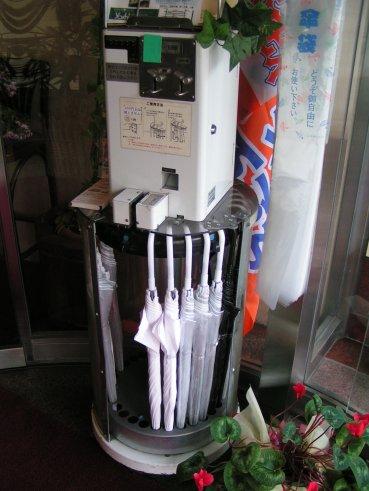 distributeur de parapluie