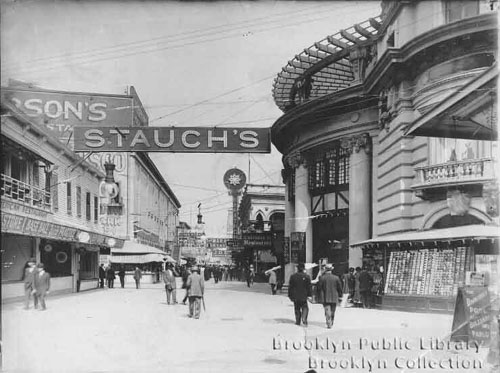 Brooklyn Back in the Day--Coney Bowery