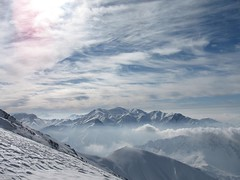 Hamhen, Pirzan Kolun and Mehrchal peaks from Sarakchal mountains