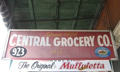 Central Grocery sign