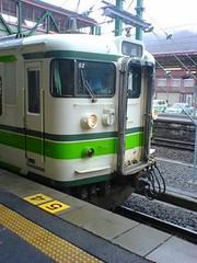 上越線水上発長岡行き普通電車