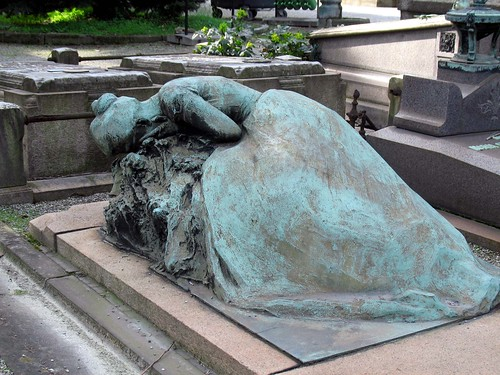 Woman weeping by clspeace.