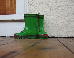 Froggy boots