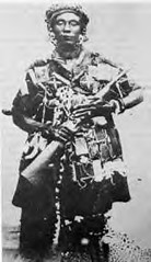 Nana Yaa Asantewa was a great African queen who led a rebellion against British imperialism in Ghana during 1900. The Africans in the region fought decades to reverse the rise of colonialism. (Pan-African News Wire File Photos) Tags: nana yaa asantewaa